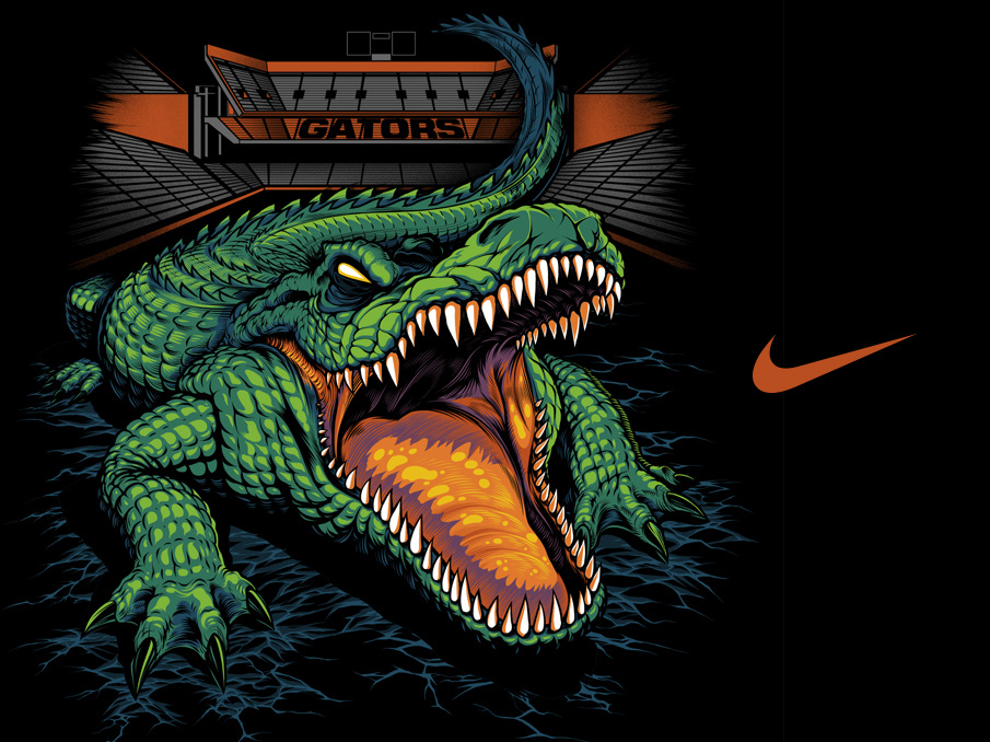 Mascot mural moreover Nike Authoritative FL Gators in addition Curso De Peluqueria Canina likewise Allianz Global Assistance Banner Ads furthermore . on design a mascot
