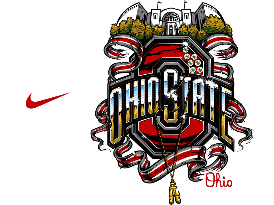 Nike Authoritative Ohio St The Art Of Damasso Sanchez